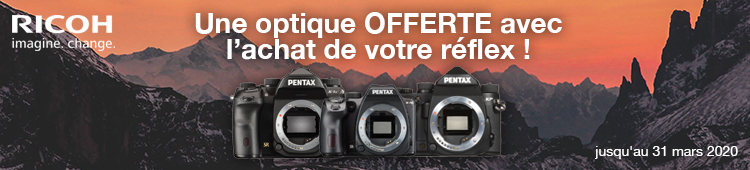 Pentax - Optique offerte - categ