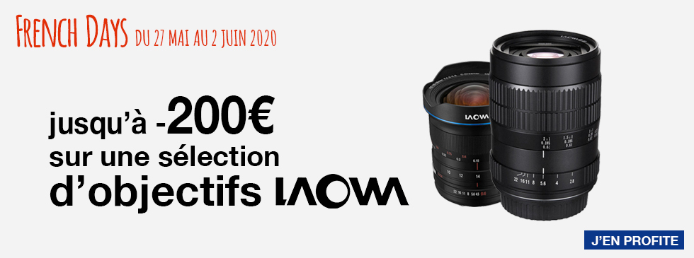French Days : Laowa -200€