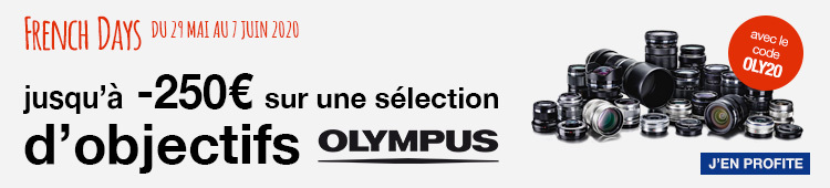 French Days : Olympus -250€ CATEG