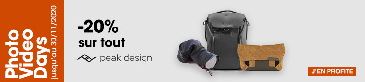 PVD / Peak Design sacs - categ