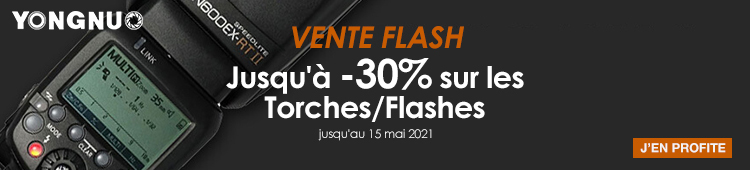 Yongnuo - Vente flash torches/flashes - categ