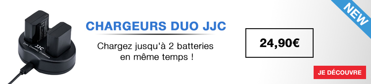 JJC3- chargeurs duo