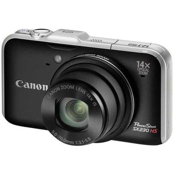 photo Canon PowerShot SX230 HS Noir