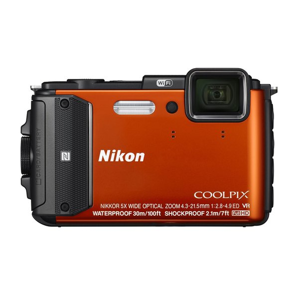 Appareil photo compact / bridge numérique Nikon Coolpix AW130 - orange