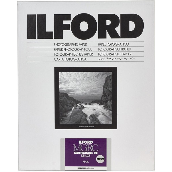 photo Ilford Papier Multigrade IV RC de luxe - Surface Perlée - 17.8 x 24 cm - 100 feuilles (MGD.44M)