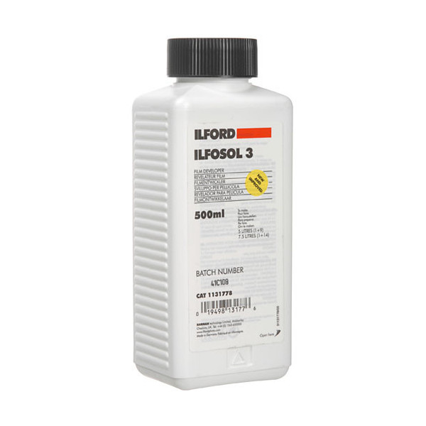 photo Ilford Révélateur films liquides ILFOSOL  3 - 0.5 l