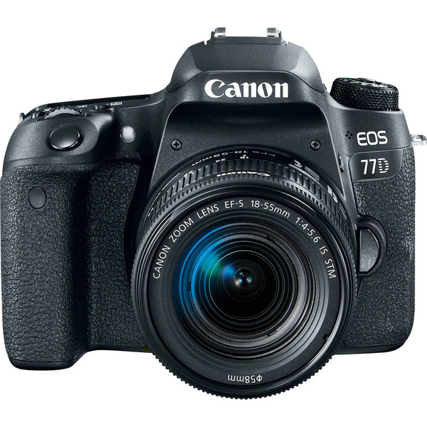 photo Canon EOS 77D + 18-55mm IS STM