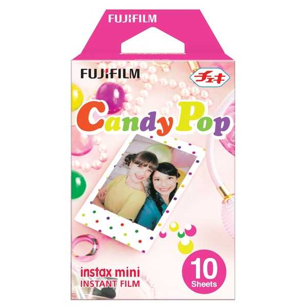 photo Fujifilm Cartouche Instax Mini style Candy Pop 10 vues