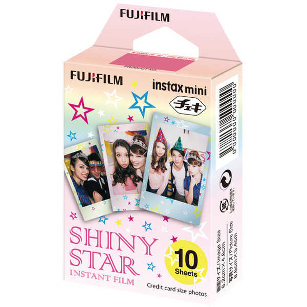 photo Fujifilm Cartouche Instax Mini style Shiny Star 10 vues