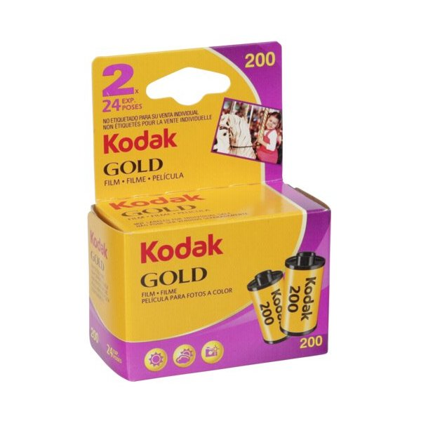 photo Kodak 2 films couleur Gold 200 135 - 24 poses