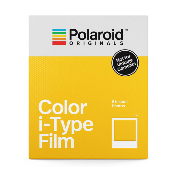 photo Polaroid i-Type Color Film avec cadre blanc - 8 poses