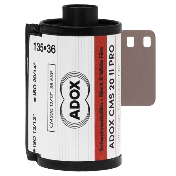 photo Adox 1 film noir & blanc CMS 20 II PRO 12-20 135 - 36 poses