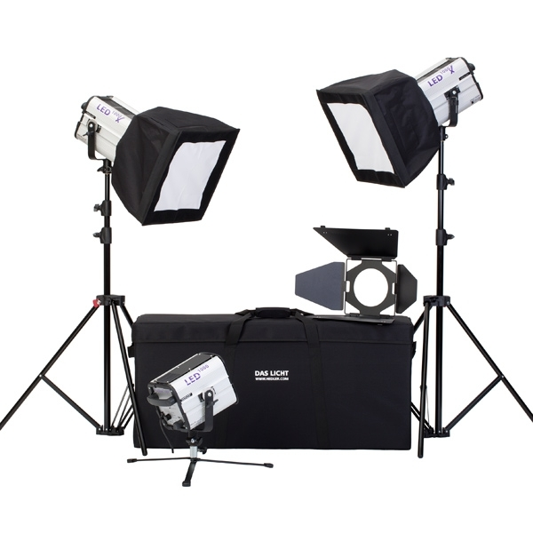 photo Hedler Kit LED Portrait - HED5604