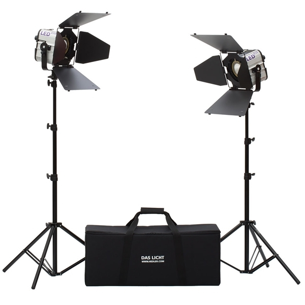 photo Hedler Kit de 2 torches Profilux LED 650 - HED5052