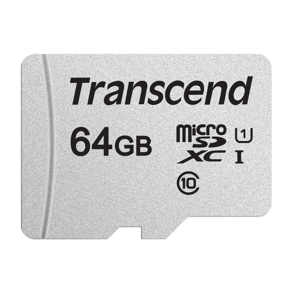 photo Transcend microSDXC 64 Go 300S UHS-I 633x (95 Mb/s)