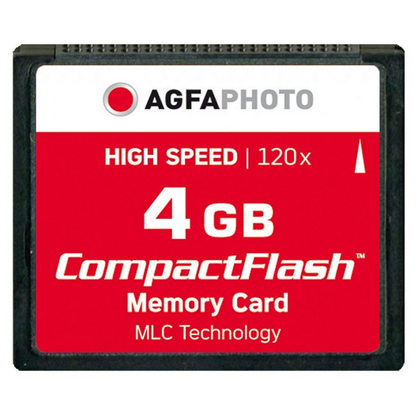 photo Agfa CompactFlash 4 Go 120x