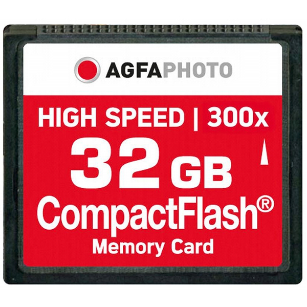 photo Agfa CompactFlash 32 Go 300x