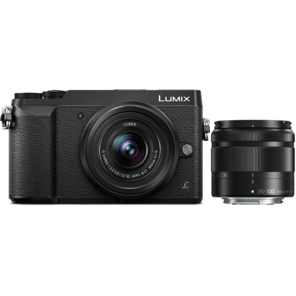 photo Panasonic Lumix DMC-GX80 Noir + 12-32mm + 35-100mm