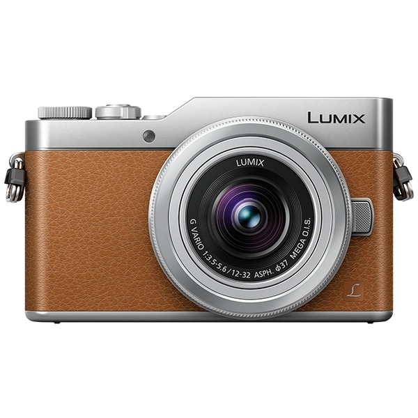 photo Panasonic Lumix DC-GX800 Marron + 12-32mm