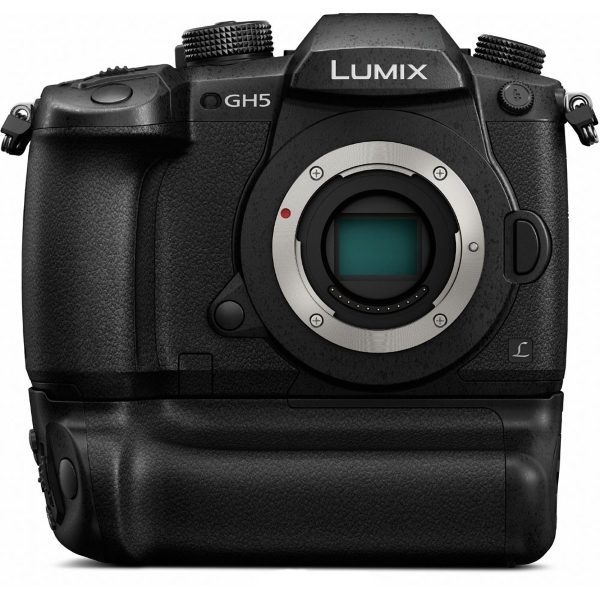 photo Panasonic DC-GH5 + Poignée d'alimentation DMW-BGGH5