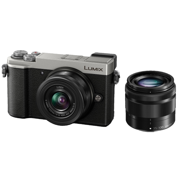 photo Panasonic Lumix DC-GX9 Argent + 12-32mm + 35-100mm