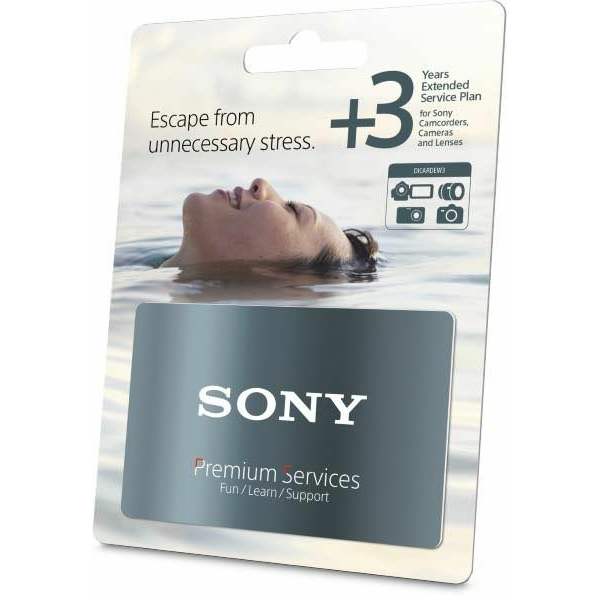 photo Sony Extension de garantie Sony +3 ans