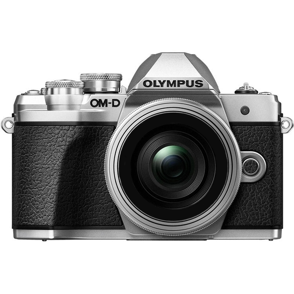 photo Olympus OM-D E-M10 Mark III Argent + 45mm f/1.8