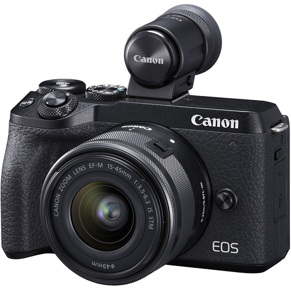 photo Canon Eos M6 Mark II + 15-45mm + viseur