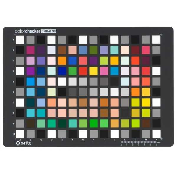 photo X-rite Color Checker SG