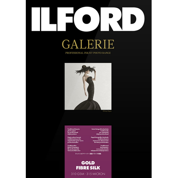 photo Ilford Galerie Prestige Gold Fibre Silk A2 - 310gr - 50F
