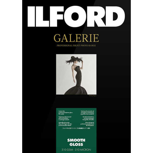 photo Ilford Galerie Prestige Smooth Gloss Paper A3 - 310g - 25F
