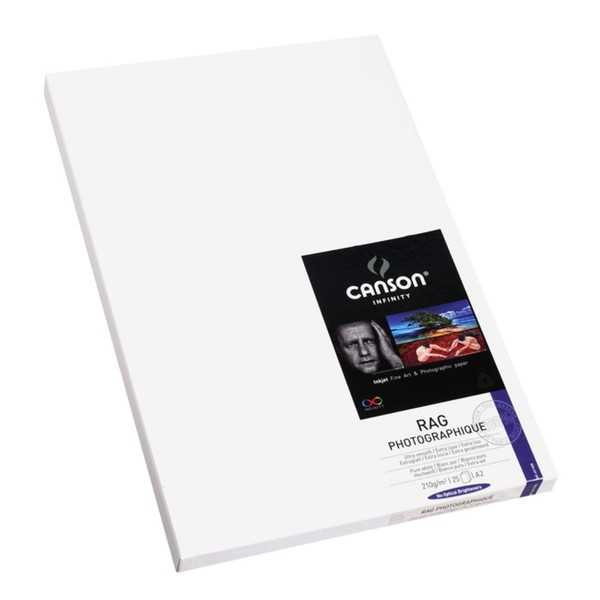 photo Canson Infinity Rag photographique 210g/m² A2 25 feuilles - 206211029