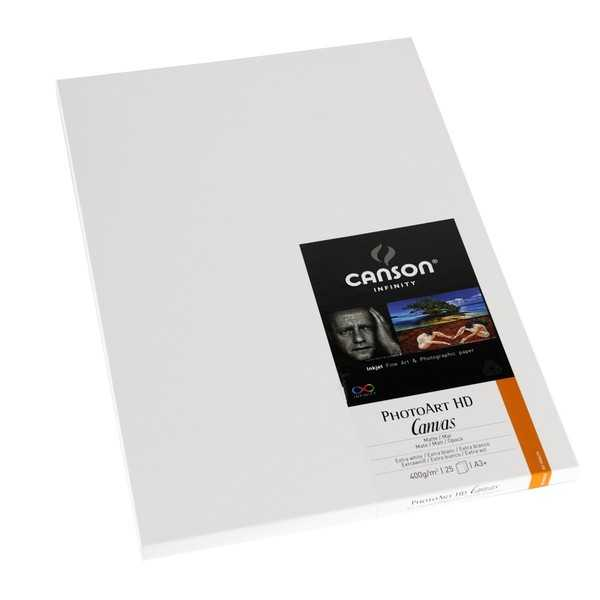 photo Canson Infinity Photo Art HD Canvas 400gm² A3+ 25 feuilles - 200004270