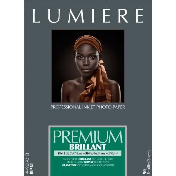photo Lumière Papier Premium Brillant - A4 - 270g - 50F
