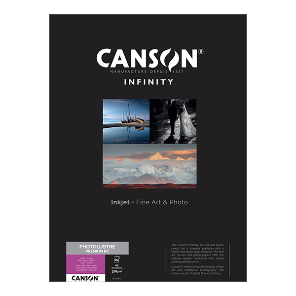 photo Canson Infinity Photo Lustre 310g/m² A2 25 feuilles - 400049115