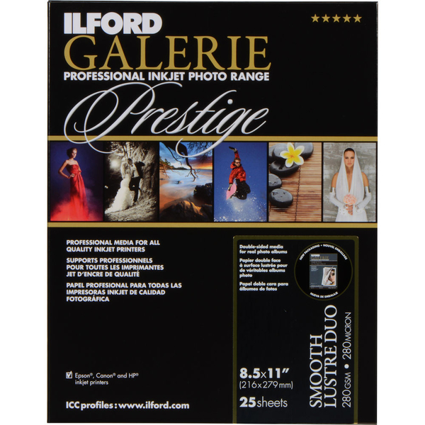 photo Ilford Galerie Prestige Semigloss Duo A3+ - 250g - 25F