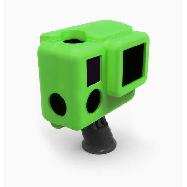 photo XSories Housse silicone verte pour HERO 3+ (SILG3+)