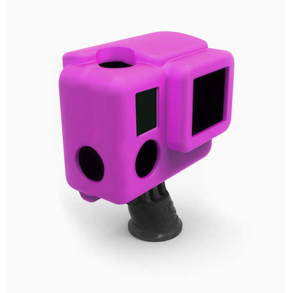 photo XSories Housse silicone magenta pour HERO 3+ (SILG3+)