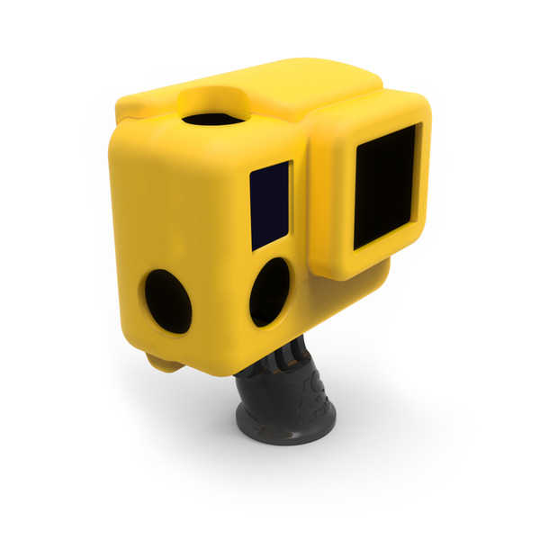 photo XSories Housse silicone jaune pour HERO 3+ (SILG3+)
