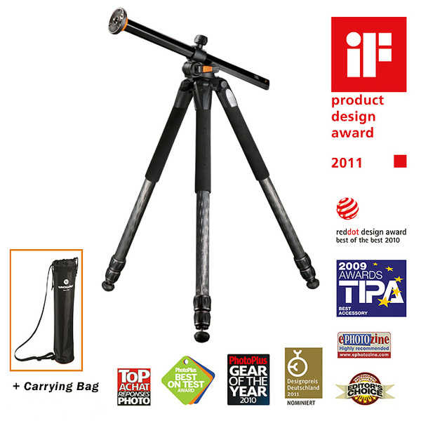 photo Vanguard Trépied carbone Alta Pro 283CT