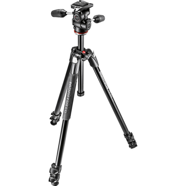 photo Manfrotto KIT Trépied 290 Xtra aluminium 3 sections + rotule 3D MH804-3W - MK290XTA3-3W