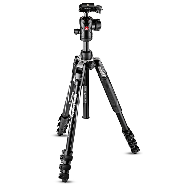 photo Manfrotto KIT Trépied BeFree Advanced + rotule ball (noir)