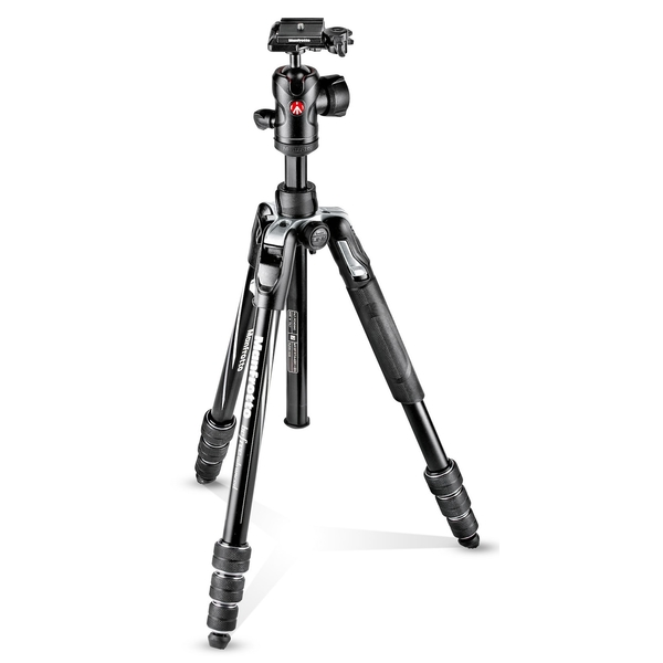 photo Manfrotto KIT Trépied BeFree Advanced M-Lock + rotule ball (noir)