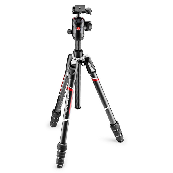 photo Manfrotto KIT Trépied Befree GT carbone + rotule ball (noir)