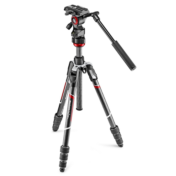 photo Manfrotto KIT Trépied BeFree Live carbone M-Lock + rotule fluide