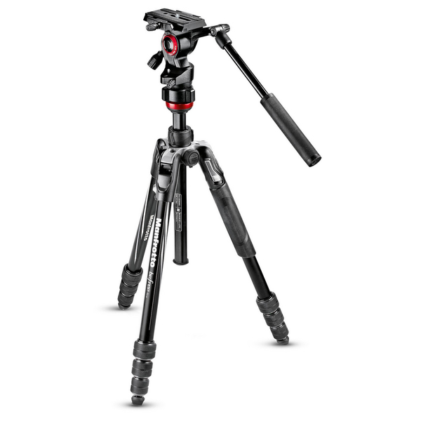 photo Manfrotto KIT Trépied Befree Live M-Lock + rotule fluide - MVKBFRT-LIVE
