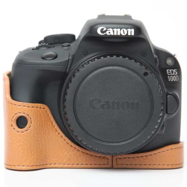 photo Ciesta Etui pour Canon 100D - Marron clair