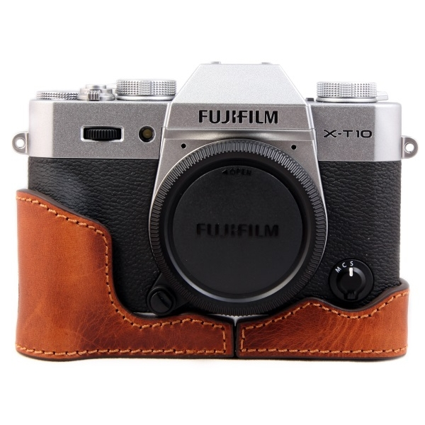 photo Ciesta Etui en cuir pour Fujifilm X-T10 - Marron Giano
