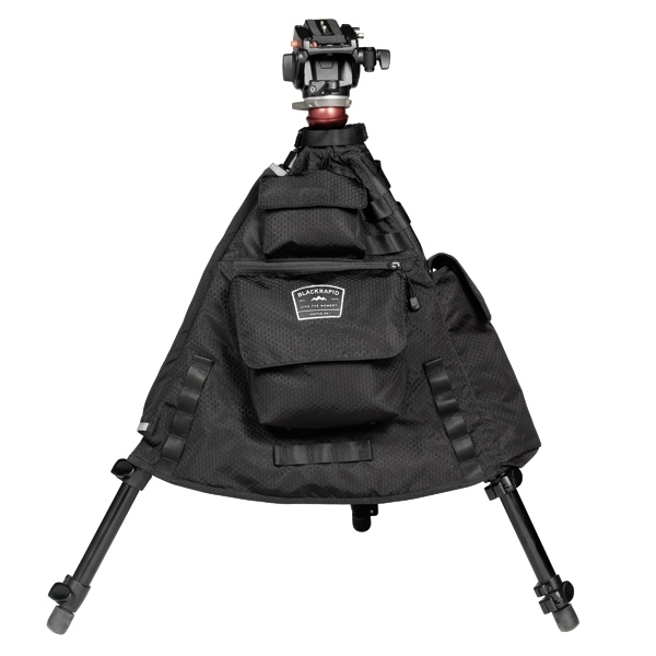 photo BlackRapid Sac photo intégré pour trépied Tripod Jacket