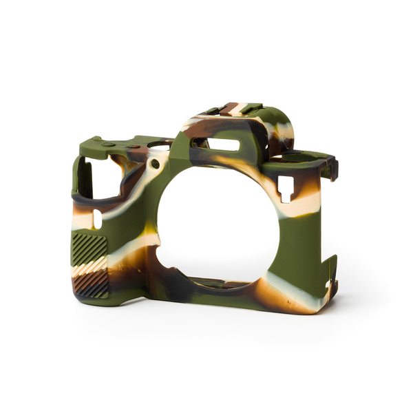 photo Easycover Coque silicone pour Sony Alpha 7 III / 7R III / 9 - Camouflage